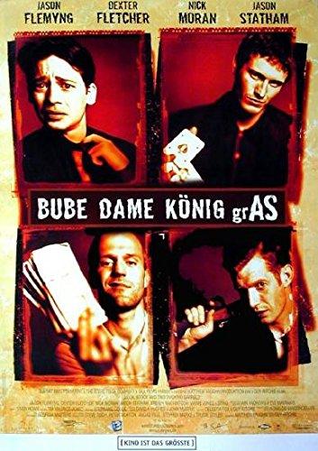 Bube Dame König Gras (1998) | original Filmplakat, Poster [Din A1, 59 x 84 cm]