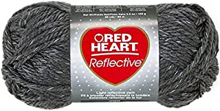 RED HEART Reflective Yarn, Grey