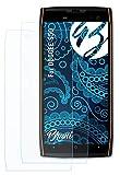 Bruni Schutzfolie kompatibel mit DOOGEE S50 Folie, glasklare Bildschirmschutzfolie (2X)