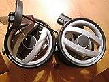 Peg Perego Double roue arrière Noir/gris Pour Pliko P3 Compact Collection 2011 et...