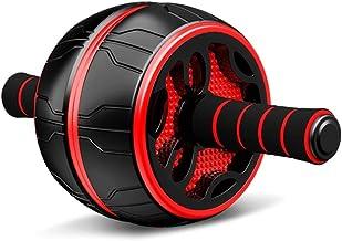 JIAYE Ab Roller Wheel, Geschikt voor Core Strength Trainingexercise Wielen voor Thuis Gym Fitness, Ab Machine Met Kniebesc...