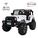 VALUE BOX Extra Larger Ride On Truck, 12V Battery Electric Kids Toddler Motorized Vehicles Toy Car...