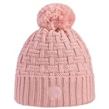 Buff Sombrero de Punto Airon Blossom para Mujer, Color Rosa, Talla única