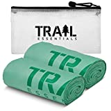 Trail Essentials Toilet Bags, Certified Biodegradable and Compostable; Use and Bury in Ground