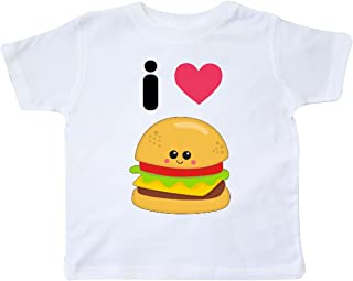 inktastic I Love Cheeseburgers Toddler T-Shirt