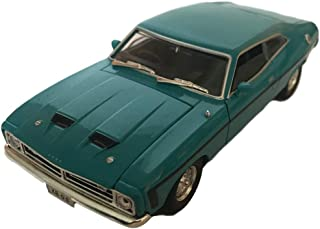 Diecast Model Ford Falcon XB GS Hardtop Deep Aqua Die Cast Car 1:32 Scale by Oz Legends Genuine Licensed Product - Collect...