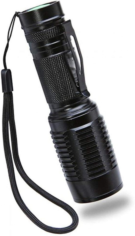 Yalztc-zyq16 Portable Flashlight Outdoor Hiking Camping Rechargeable Focus Light Flashlight