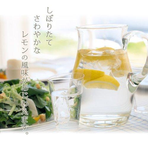 いわぎレモン4本100%レモン果汁防腐剤ワックスなしの瀬戸内レモン使用