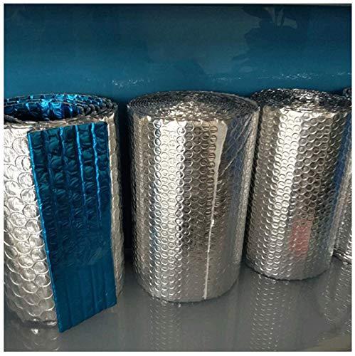 Autoadhesivo Rollo Aluminio Aislante Rollo Aislante Térmico De Aluminio Autoadhesivo Rollo Aislante Termico Suelo Loft Pared Rollo De Aislamiento De Lámina Reflectante De Burbuja(Color:4mm,Size:1x30m)