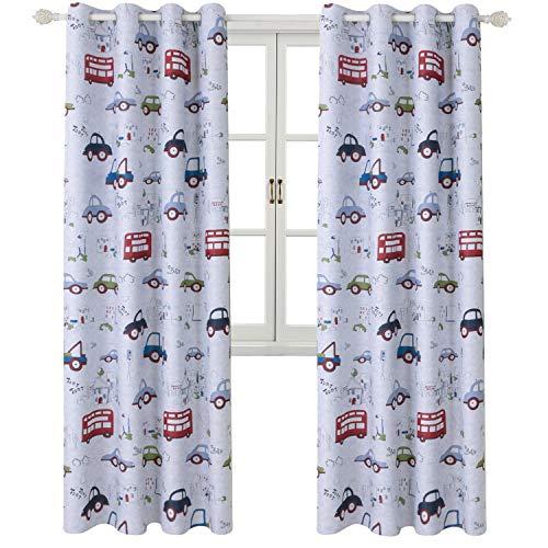 cortinas habitacion niño dibujos