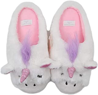 Unicorn Cat Plush Slippers | Indoor Outdoor Sneakers | Cozy Plush Shoes Woman Slippers | Cute Fluffy Girls Slippers
