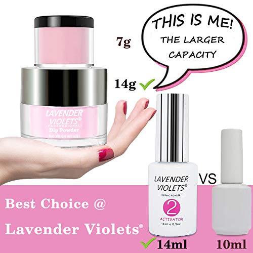 Lavender Violets Nail Powder Kit