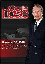 Charlie Rose - Steve Kroft / Kiefer Sutherland November 20, 2008