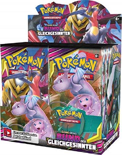 Pokémon Sonne & Mond Serie 11 - Bund der Gleichgesinnten - 1 Display (36 Booster) - Deutsch