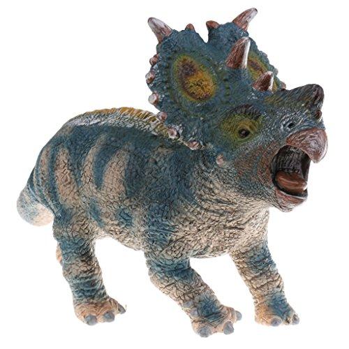 B Blesiya Realistische wilde dierentuin model actie figuur kinderen educatief speelgoed decoratie - pachyrhinosaurus