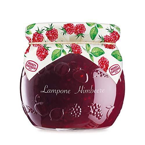 Menz & Gasser Edel Confettura Extra di Lamponi 55%, con Frutta di Alta Qualità, 1 Vaso x 620 g