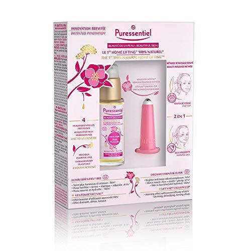 Laboratoire Puressentiel Coffret Le 1er Home Lifting 100% Naturel Elixir 30 ml/Ventouse Visage LiftVac