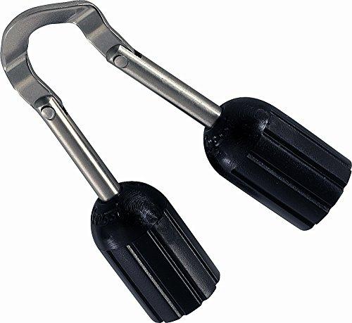 Cressi Jointed Wishbone Obús articulado, Unisex Adulto, Negro, M