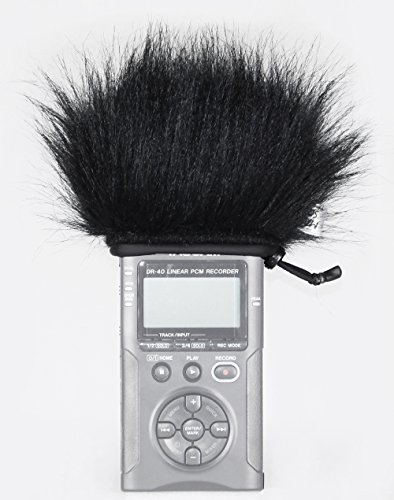 Master Sound Tascam DR40, Winds Screen For Registratore Tascam DR 40/V2/X to Protect The Record From The Wind, Made in the EU From Certified, High Quality and Reliable Materials