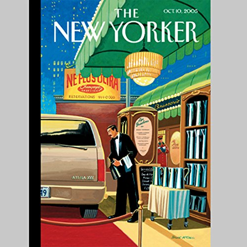 The New Yorker (Oct. 10, 2005) copertina