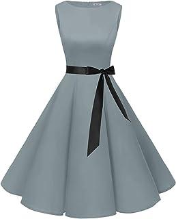 5226d810701 Bbonlinedress modèle 2 Vintage rétro 1950 s Audrey Hepburn Robe de soirée  Cocktail année 50 Rockabilly