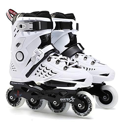 XJBHD Inliner Damen Herren, Inlinerskates Rollschuhe Unisex Fitness Skates für Erwachsene Dreifach Schutz Leichte Anfänger Erwachsenen Fitnessschuhe Inliner für Kinder und Erwachsene