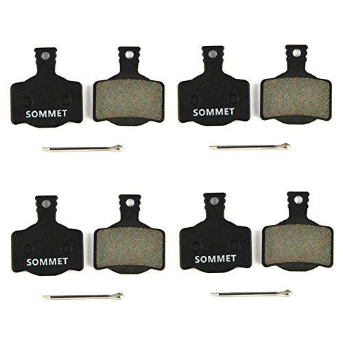 4 Pares SOMMET Pastillas Freno Disco Semi-metálico para MAGURA MT MT2 MT4 MT6 MT8