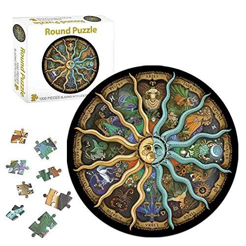 Puzzle,Puzzle Erwachsene Anspruchsvoll,Puzzle Erwachsene 1000 Teile,Jigsaw Puzzle Adult,Klassische Puzzles,Erwachsenenpuzzle,Puzzle Erwachsene,Buntes Puzzle Erwachsene (Konstellation / 1000PCS)