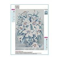 ダイヤモンド塗装DIYダイヤモンド画像フルスクエアドリル刺繍クロスステッチギフト家の装飾ギフトV-119
