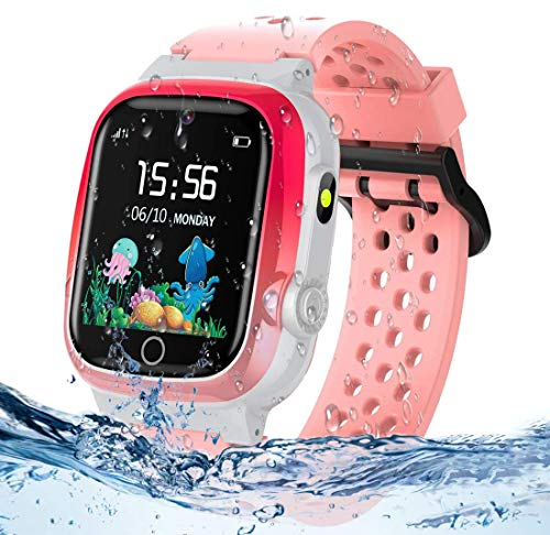 Product Image of the Themoemoe Kids GPS Watch, Kids Smartwatch with GPS Tracker Waterproof Phone...