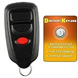 Discount Keyless Keyless Entry Remote Control Car Key Fob Compatible With Isuzu HYQ1512R