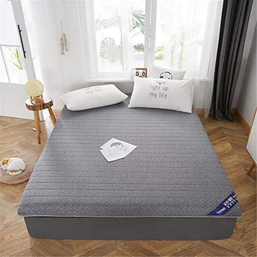 D&LE Japanese Floor Mattress,DOUBLE Non-slip Soft WARM Sleeping Pad,Fits The Human Body Curve Futon Mattress Topper For Hotel Dormitory Guests