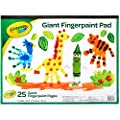 """Crayola Giant Fingerpaint Paper, 25 Pages, 16"""" x 12"""" (99-3405) by Crayola"""
