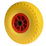 WOLFPACK LINEA PROFESIONAL 11112415 Rueda Carretilla Sacos Maciza Llanta Plástico 20 mm