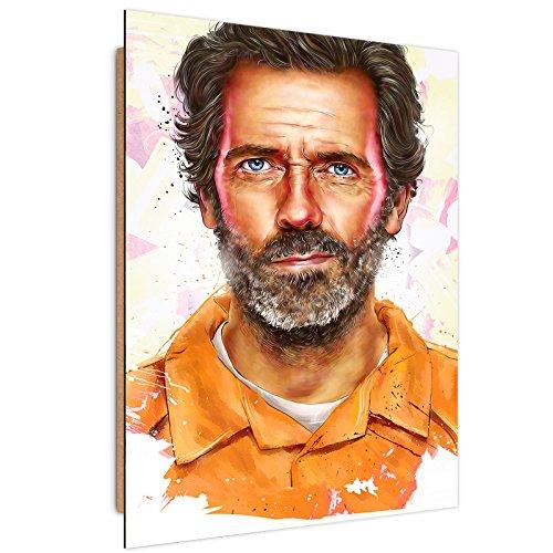 Feeby. Tableau - 1 Partie - 70x100 cm, Décoration Murale Image Imprimée Deco Panel, Dmitry Belov - Film Orange
