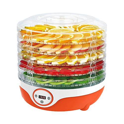 Best Review Of Food Dehydrator 35~70℃ Temperature Setting, Fruit Dryer Machine Dehydrator Machine ...