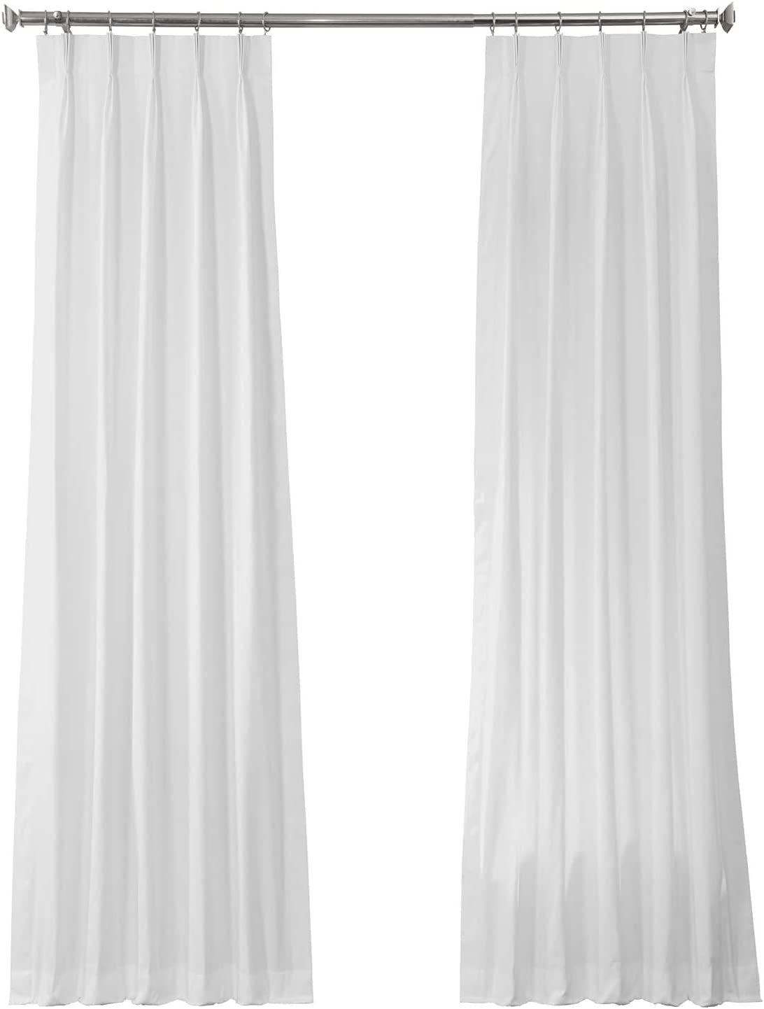 HPD Half Price Drapes 100% quality warranty! PRCT-S19B-84-FP Pleated Cotton Curta Ranking TOP19 Solid