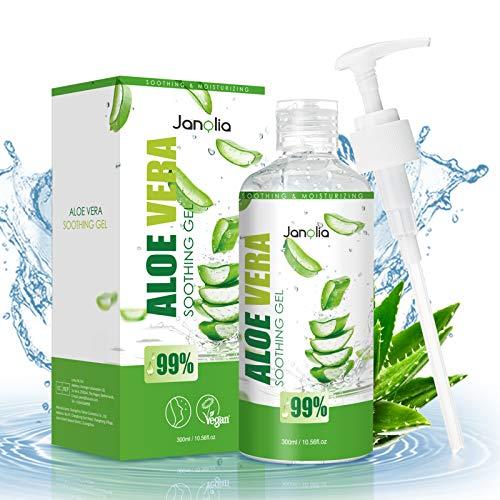Janolia Gel di Aloe Vera Antiossidante, 300 ml Gel...