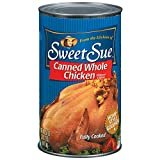 Sweet Sue Whole Chicken 50 oz. Can
