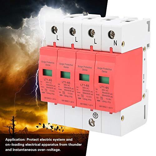 Brandschutz-Überspannungsschutzgerät, Niederspannungs-4P-Überspannungsschutz für das Haus zu Hause