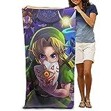 chenguang4422 Legend Zelda Anime Cartoons Bath Towels Large Soft Bathroom Absorbent Towel Women Men Apply to Beach Sports Travel Washcloths