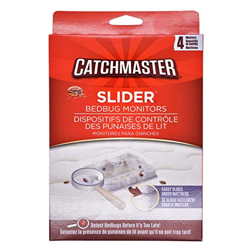 Catchmaster biologisch abbaubares Mittel gegen | 4 Stück | 7cm x 5cm Monitor Prävention und Bekämpfung einzigartig, Weiß
