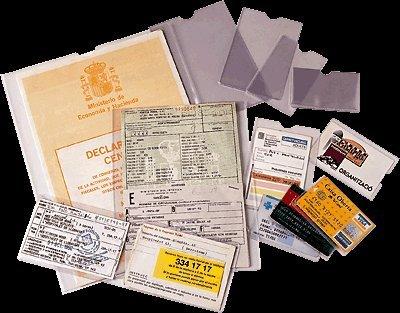 ESSELTE 46004 - Caja 100 portacarnets 80Q 82 x 122 mm