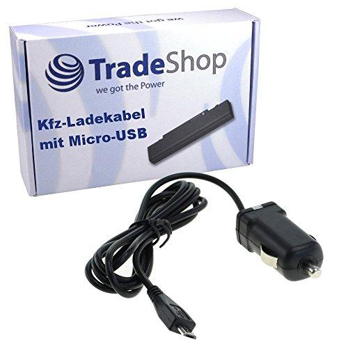 Trade-Shop KFZ Auto Ladegerät Ladekabel Adapter Micro-USB passend für Samsung GT-E1270