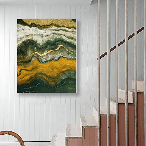 SADHAF abstracte canvas afdrukken muurschildering aquarel kunst poster en afdrukken Home Decor Canvas 60x80cm (kein Rahmen) A4.
