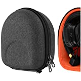 Geekria Funda para Auriculares Marshall Major, Major II, Major III, Monitor Bluetooth Wireless Over-Ear Headphone, Estuch Rígido de Transporte, Viaje Bolsa