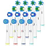 Replacement Toothbrush Heads for Braun Oral b,...