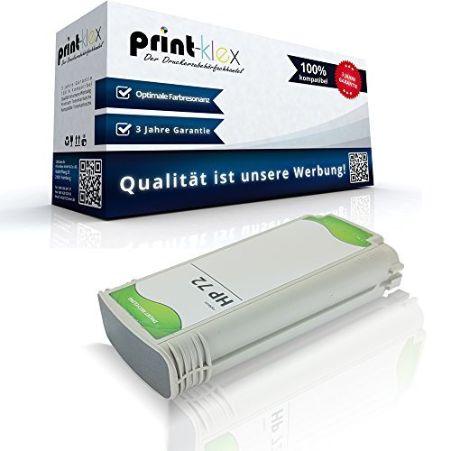 Print-Klex Kompatible Tintenpatrone für HP DesignJet T790PS 44Inch T795 C9374A HP72 HP 72 Grau Grey - Easy Line Serie