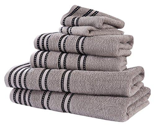 Rapport 'Sirocco–Juego de Toallas (M2), 100% algodón–Color Gris