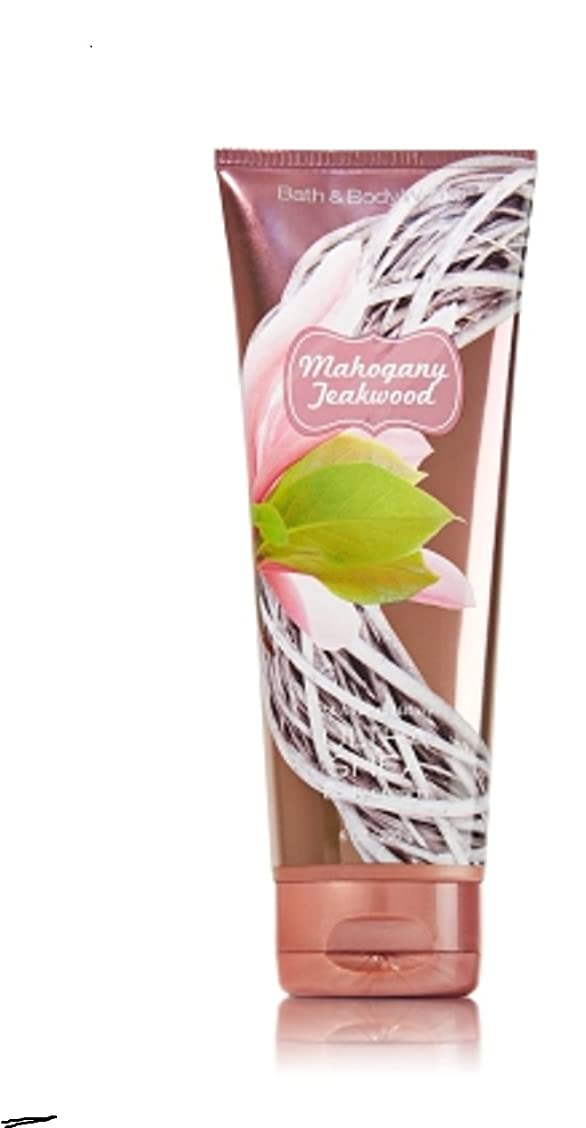 変色する疑問を超えて予測1 Bath & Body Works Mahogany Teakwood 24hr Ultra Shea Body Cream / Lotion by Bath & Body Works [並行輸入品]